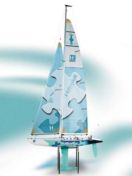 Krick Segelboot 'Hawaii 1000' Regattayacht RTR